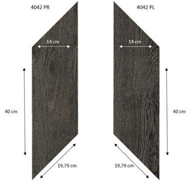 4042 PR-PL Black Fine Oak PRO1